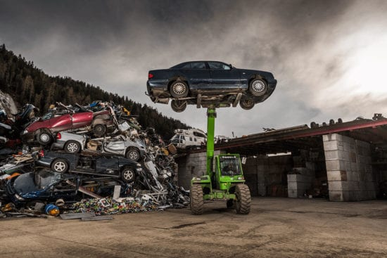 Altautoentsorgung - Wilding Recycling Radstadt, Recyclinghof in Salzburg