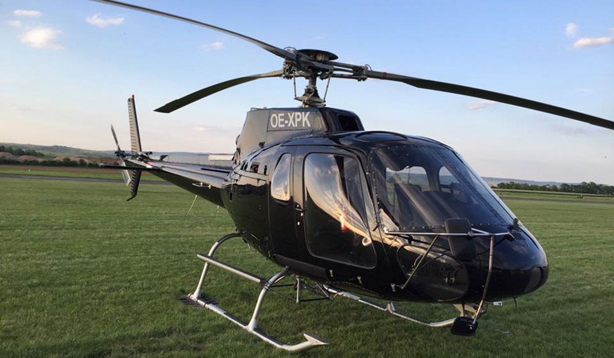 Helicopter Rent in Österreich - AS-350-B2