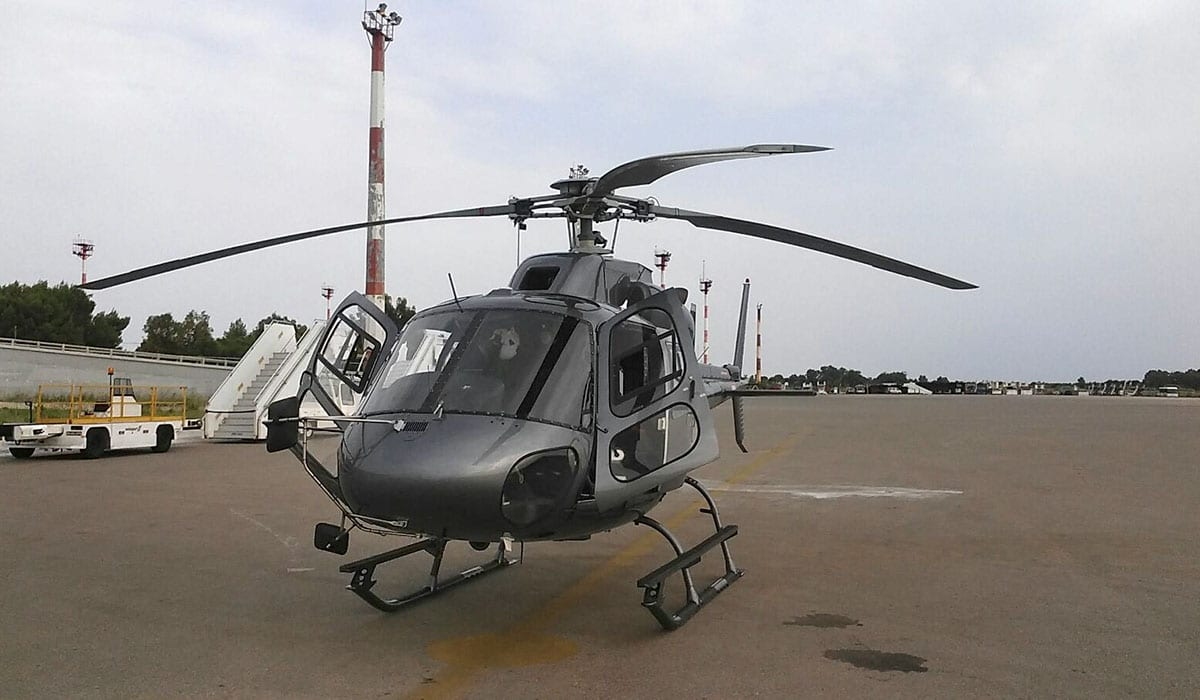 Helicopter Rent in Österreich - AS-355-F2