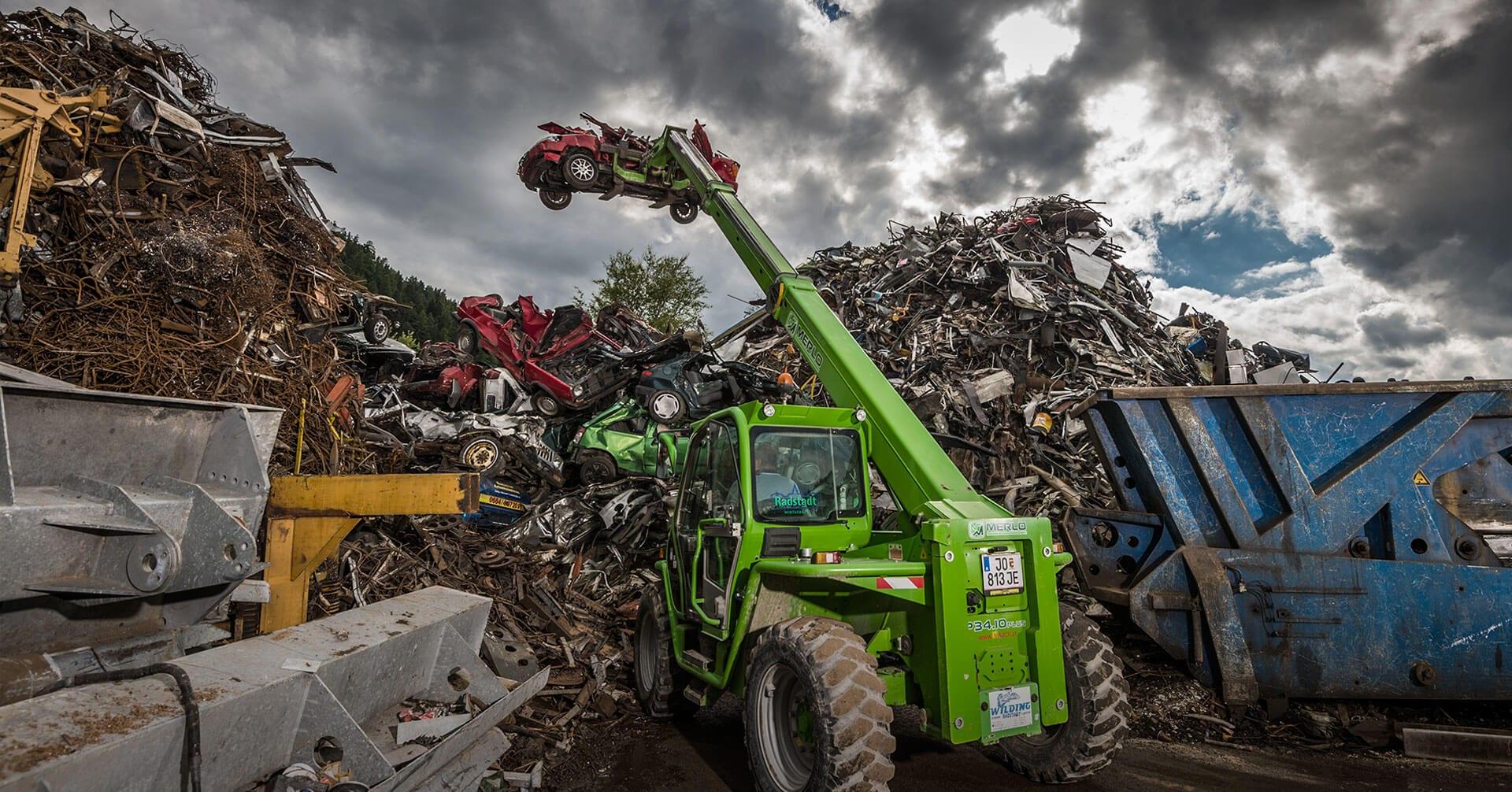 Entsorgungsbetrieb, Recyclingbetrieb & Schrotthändler - Wilding Radstadt